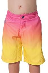 TEN-80 Lil Sandbar Boardshort Size 5T- Yellow