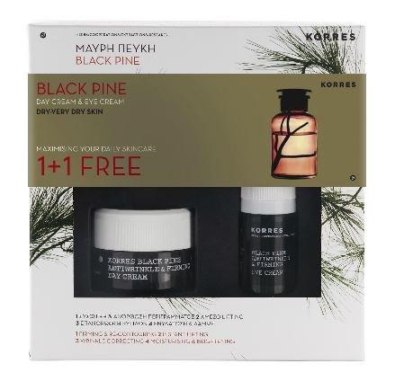 korres-black-pine-day-cream-40ml-eye-cream-15ml-gift-set