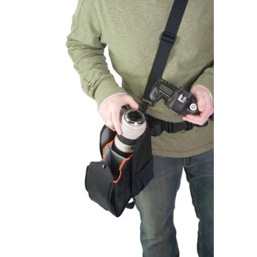【国内正規品】Lowepro レンズケース S&F レンズエクスチェンジC 200 AW レインカバー ブラック 362606