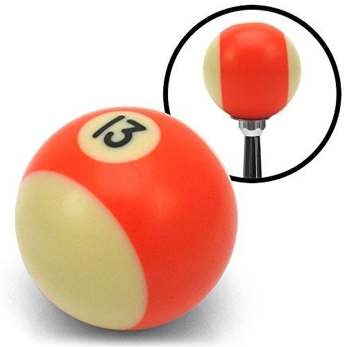 American Shifter Company ASCSN03013 13 Ball Billiard Pool Custom Shift Knob uconnect flathead racing 409 custom rzr (13 Ball Shift Knob compare prices)