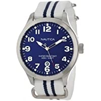 Nautica Unisex N09919G BFD 101 Classic Analog with Enamel Bezel Watch by Nautica