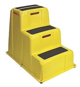 Lightweight Industrial Step Stool 500 Lb Capacity 30