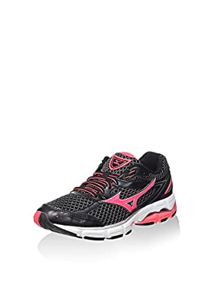 Mizuno Zapatillas de Running Wave Connect Wos (Negro)