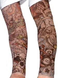 Temporary tattoo sleeves toys games for Tattoo sleeves amazon