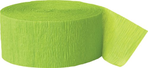 Crepe Paper Streamers, 81 Feet, Lime Green (Party Decorations Crepe Paper compare prices)