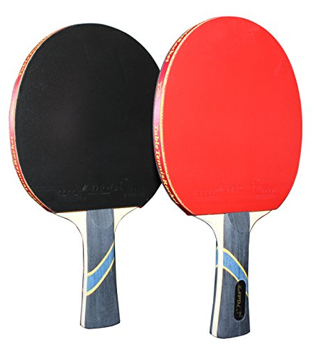 Why Should You Buy MAPOL 4 Star Table Tennis Paddle Advanced Trainning Ping Pong Racket With Carry C...