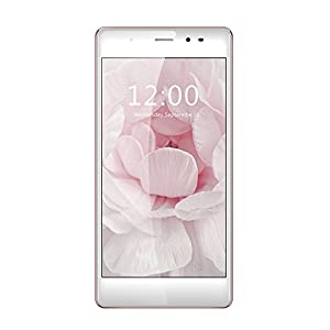 LEAGOO T1 4G Smartphone Android 6.0 MTK6737 1.3GHz 2.5D 5.0 Inches HD 1280 * 720 Pixels Screen 2G+16G 8MP+13MP Dual Cameras (Rose Gold)