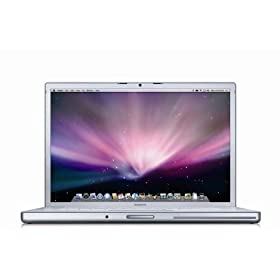 "Apple MacBook Pro MB133LL/A 15.4"" Laptop (2.4 GHz Intel Core 2 Duo Processor, 2 GB RAM, 200 GB Hard Drive, DVD/CD SuperDrive)"