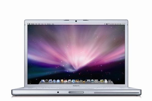 Apple MacBook Pro MB133LL/A 15.4-inch Laptop (2.4 GHz Intel Core 2 Duo Processor, 2 GB RAM, 200 GB Hard Drive, DVD/CD SuperDrive)