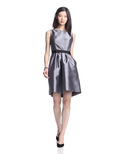 JS Boutique Women's Mikado Party Dress with Bow Belt