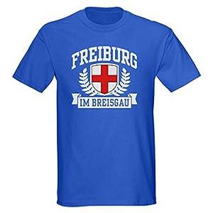 T-Shirtshock - T-shirt Tees Herren ENG0228 freiburg im breisgau tshirt, Größe