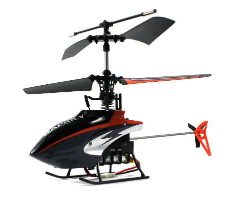 Micro 301 F-Series Electric Rc Helicopter Gyro Gyroscope 4Ch Channel Usb Ir Infrared Ready To Fly Rtf (Colors May Vary)