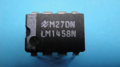 Hot Sale!!! Bargain Price!!! 10Pcs Ns Lm1458N Lm1458 Gp Op Amp Ic Chip&Apos-S Zt In Business