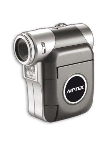 Aiptek PocketDV T100 LE Camcorder with Digital Camera, WebCam and Voice Recorder - Pink image