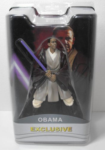 "President Barack Obama Exclusive 7"" Action Figure ""Purple Lightsaber"""