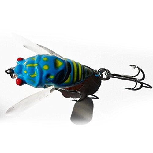 Meidus Top Cicada Fishing Lures Bass Crank Baits 4Cm Float Baits