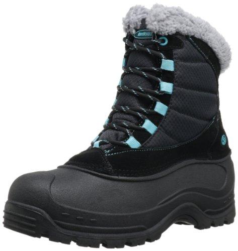 Northside Women's Fairmont Boot,Black/Light Blue,7 M US
