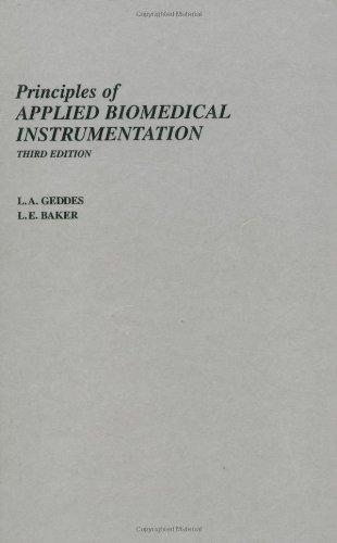 Principles of Applied Biomedical Instrumentation