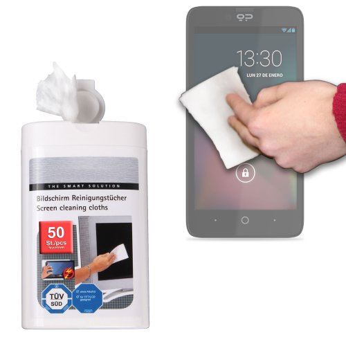 Duragadget Anti-Static Lcd Touchscreen Cleaning Cloths For Geeksphone Blackphone, Geeksphone Revolution