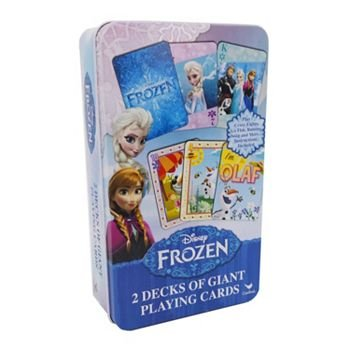Disney Frozen 2 Decks of Giant Playing Cards