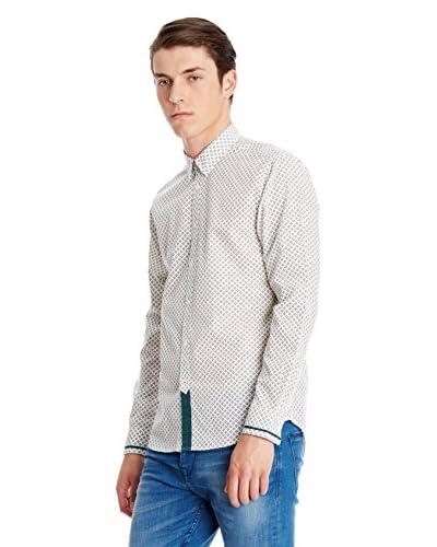 Merc Camicia Uomo Kaplan [Bianco]