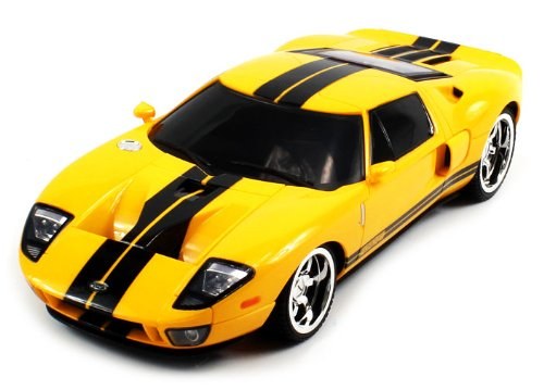 OFFICIALLY Licensed Electric Full Function 1:18 Ford GT Muscle RTR RC Car (Colors May Vary)
