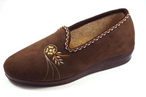 Chapines, Pantofole donna MARRÓN