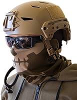 Milspec Monkey MSM SKULL FACE Mask Multi Wrap Head Gear - DUSTY BROWN
