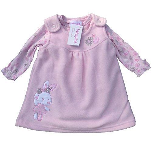 baby-girl-colore-rosa-2-pezzi-motivo-abito-e-neonati-rosa-3-6-mesi