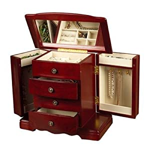 Harmony Musical Jewelry Box in Cherry [Kitchen]