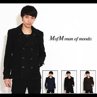 【MofM(manofmoods)】スライバーニット ピーコート1サイズネイビー