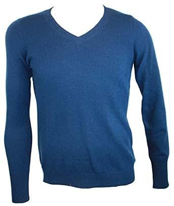 Enzo Mantovani Cashmere Sweater for Men (S, Blue)