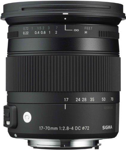 Sigma 17-70mm f/2.8-4 DC Macro OS HSM C (Canon EF Mount)