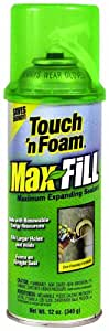 Touch 'N Foam 4001031212 Maxfill Maximum Expanding Sealant