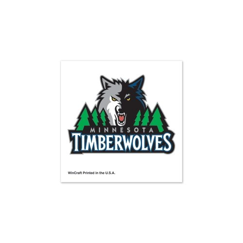 "Minnesota Timberwolves Official NBA 1""x1"" Fake Tattoos by Wincraft"