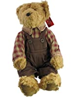 Russ Berrie Bears of the Past Ferguson Dressed Country Boy Teddy Bear from Russ Berrie