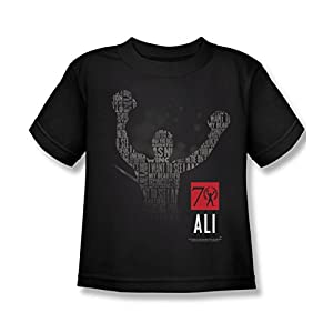 Muhammad Ali 70 Arms Raised Juvy T-Shirt