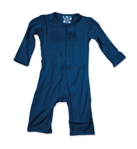 Kickee Pants Coverall, Twilight, -3 Months front-241624