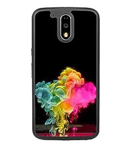 Colour Spurt 2D Hard Polycarbonate Designer Back Case Cover for Motorola Moto G4 Plus :: Moto G4+