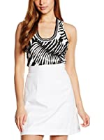 Just Cavalli Top (Blanco / Negro)