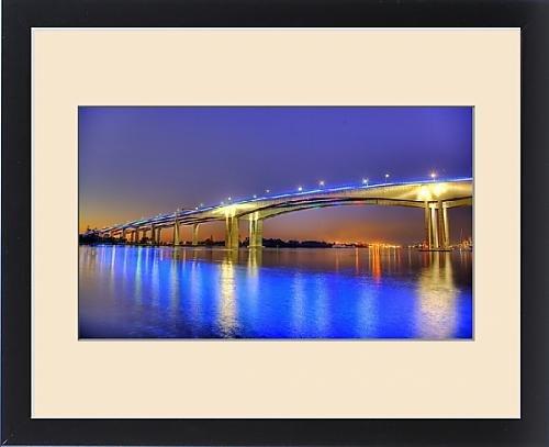 framed-print-of-gateway-bridge-at-dawn-brisbane-australia