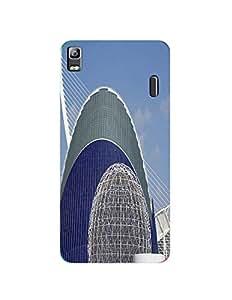 Bagsfull Designer Printed Matte Hard Back Cover Case For Lenovo K3 Note