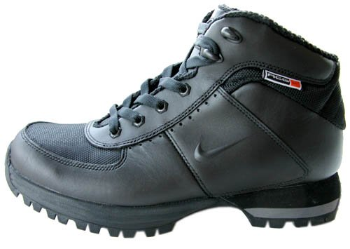 Buy Nike ACG Pinchot Leather Mens Black Boots