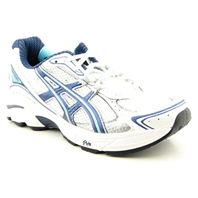 ASICS Women's GT-2130 Size: 11, Width: D, Color: White/Turquoise
