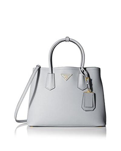 Prada Women's Double Bag, Granito/Acquamarina