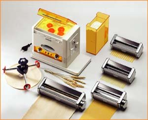 Linea Facile Motorized Pasta And Pizza Maker - Made In Italy