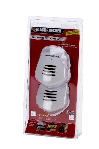 Black Amp Decker Ep321 2p D6 Ultrasonic Pest Repeller White