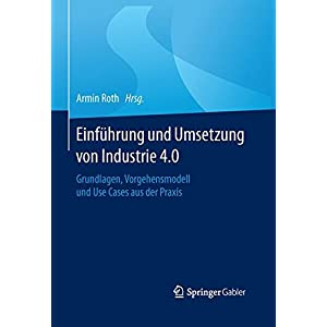 Einführung und Umsetzung von Industrie 4.0: Grundlagen, Vorgehensmodell und Use Cases aus der Praxi
