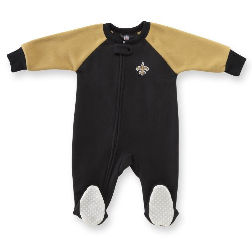 NFL New Orleans Saints Infant/Toddler Blanket Sleeper, 5T at Amazon.com