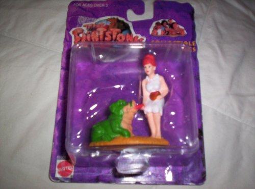 Buy Low Price Arcotoys The Flinstones Movie Collectible Figure-Wilma feeding the Pigasaurus (B001N0CAV8)